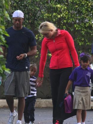 Tiger Woods, Lindsey Vonn, Kids