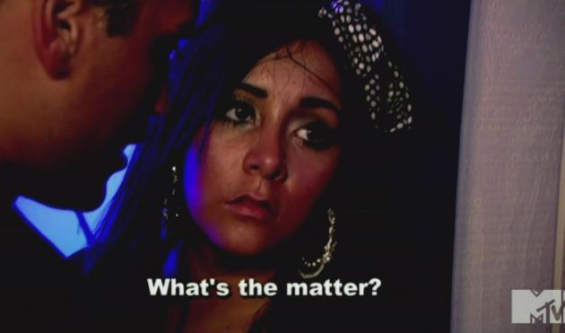 Snooki on Jersey Shore