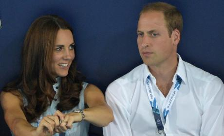 Kate Middleton and William
