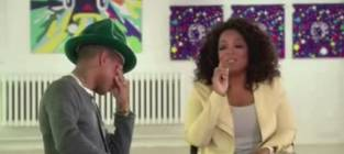 Happy Makes Pharrell Williams Cry with Oprah