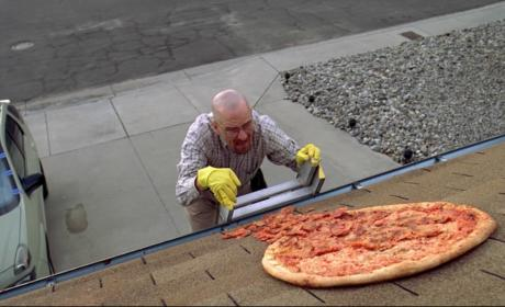 Breaking Bad Pizza Scene