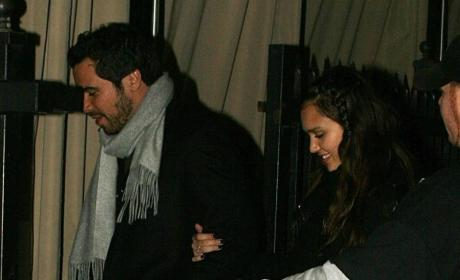 Jessica Alba Engaged to Cash Warren?