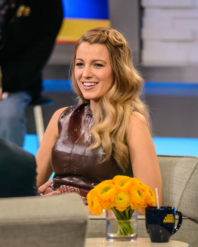 Blake Lively on GMA