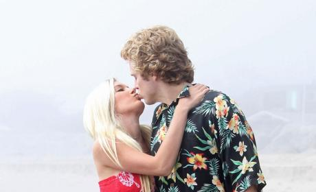Heidi Montag and Spencer Kiss