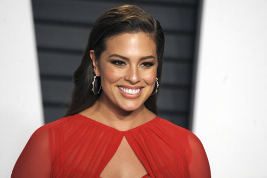 Ashley Graham at Oscars Party