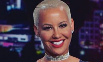 Amber Rose Debuts Dramatic New Look, Overdoes It With The Lipstick