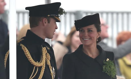 Kate Middleton and Prince William: Irish Guards Photo