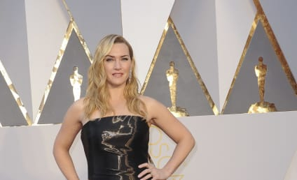 Kate Winslet: Not Pregnant, Just Wore a Weird Dress At The Oscars