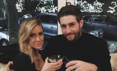 Kristin Cavallari and Jay Cutler Toast 2016