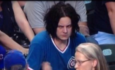 "Jack White Hates Life at Chicago Cubs Game, Hilarious ""Party of the Century"" Photo Goes Viral!"