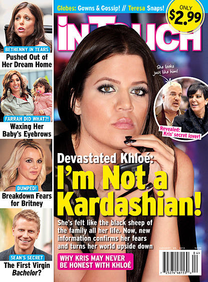 Khloe Kardashian Tabloid Rumor