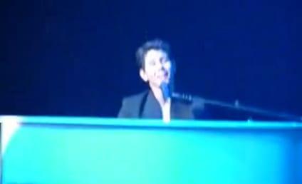 "Nick Jonas Covers ""Friday"" in Concert"