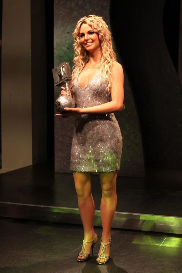 Wax Britney Spears