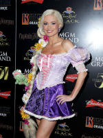 Holly Madison on Halloween