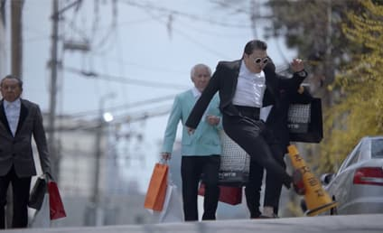 "PSY ""Gentleman"" Video Banned By South Korean Network For Traffic Cone Abuse"