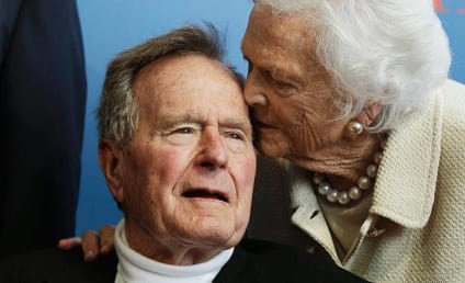Ex-President George H.W. Bush In Intensive Care