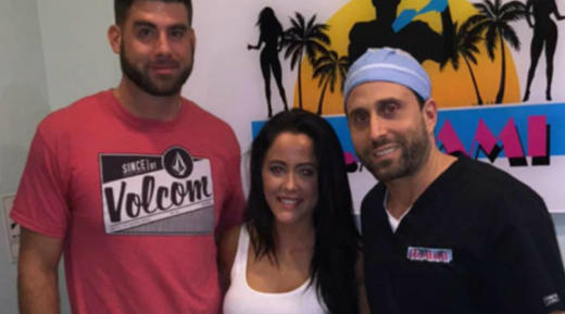 Jenelle at the Plastic Surgeon's