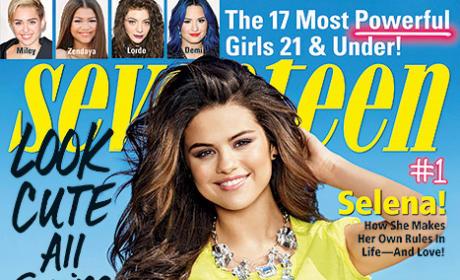 Selena Gomez on Seventeen