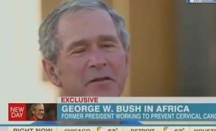 George W. Bush Defends Internet Spying, Slams Edward Snowden