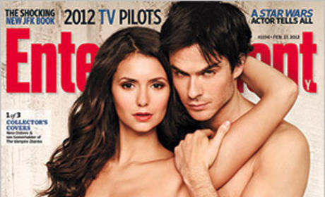 The Vampire Diaries Trio Covers EW, Nearly Shuts Down Twitter