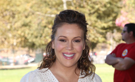 Knocked Up Alyssa Milano