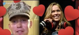 Ronda Rousey Accepts Invite to U.S. Marine Corps Ball