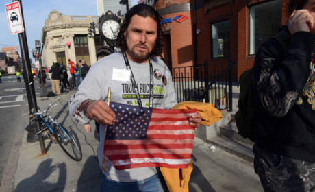 Carlos Arredondo, Peace Activist at Boston Marathon, Hailed as Hero