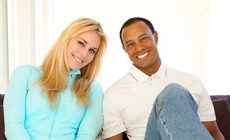 Lindsey Vonn: Not Freaked Out By Tiger Woods' Past, Went Public Because of Paparazzi