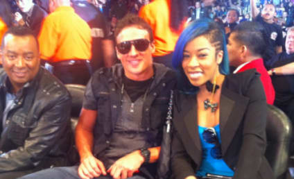 Ryan Lochte and K. Michelle: Dating?!