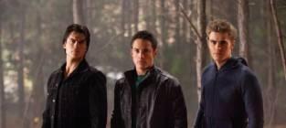 Ian Somerhalder, Michael Trevino and Paul Wesley