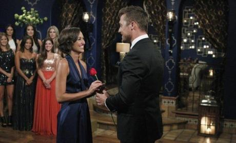 Kelsey Poe and Chris Soules on The Bachelor