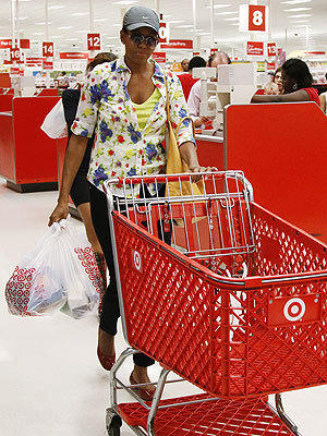 Michelle Obama at Target