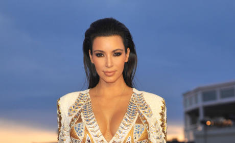 Kim Kardashian Cannes Photo