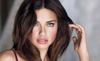 Adriana Lima Topless in DT Magazine