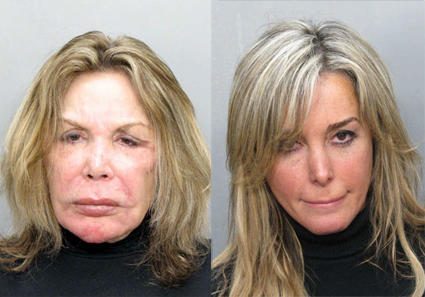 Mother/Daughter Mug Shots