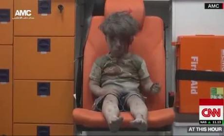 CNN Reporter Breaks Down Over Young Syrian War Victim