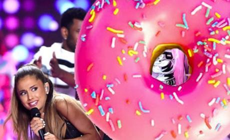Ariana Grande: Under Police Investigation for Anti-Patriotic Donut Incident