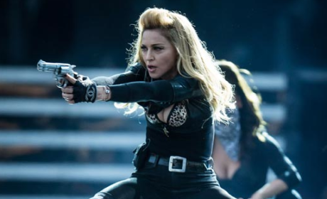 Madonna Pulls Gun at Denver Concert, Some Fans Not Pleased