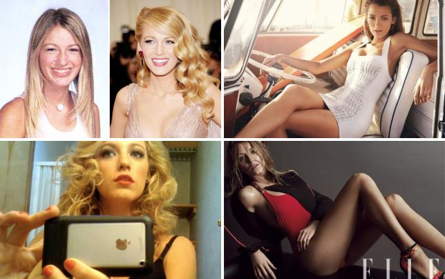 Blake lively then and now