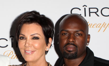 Kris Jenner, Corey Gamble Photo