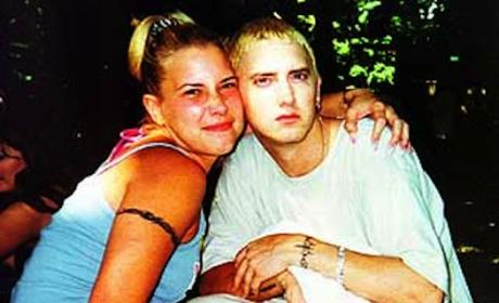 Eminem and Kim Mathers