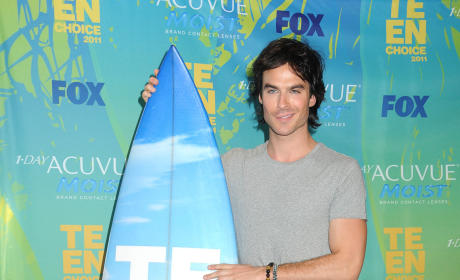 Ian Somerhalder at the TCAs