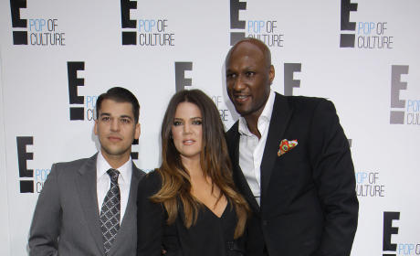 Khloe and Lamar and Rob