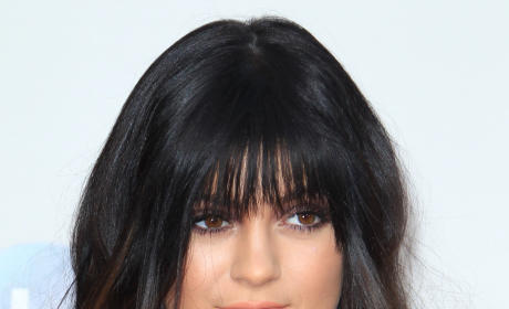 Kylie Jenner with Bangs