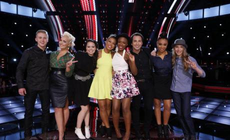 The Voice Season 8 Top 8