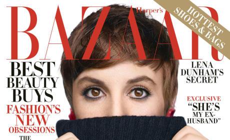 Lena Dunham Harper's Bazaar Cover
