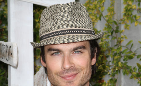 Ian Somerhalder's Eyes