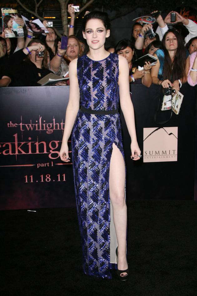 Kristen Stewart at Breaking Dawn Premiere