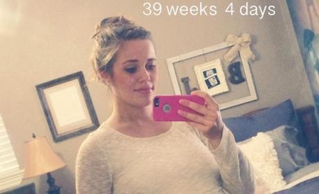 Jessa Duggar Baby Bump: 39 Weeks, 4 Days!