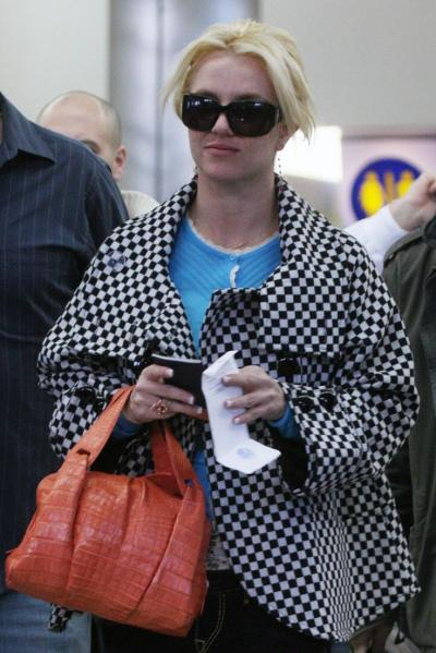 Britney Spears Airport Chic Fashion